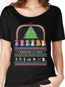 Happy Hearth's Warming Sweater Women's Relaxed Fit T-Shirt