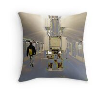 Terminus Throw Pillow