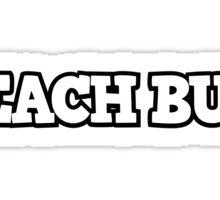 Beach Bum 2 Sticker