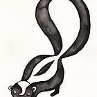 My Little Skunk by Erika  Hastings