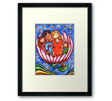 Peaceful Pregnancy Framed Print