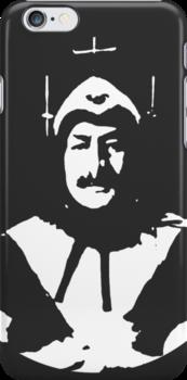 Phantom of Krankor phone case by Margaret Bryant