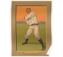 Benjamin K Edwards Collection Bob Groom Washington Nationals baseball card portrait Poster