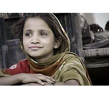 with the eyes of india Photographic Print