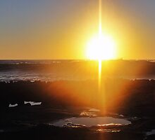 Grounding Chakra Sun by Angelika Sielken