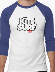 Kite Surf More Men's Baseball ¾ T-Shirt