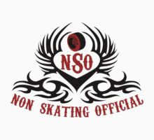 Non-Skating Official {black & red} by David & Kristine Masterson