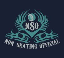 Non-Skating Official {silver & teal} by David & Kristine Masterson