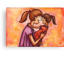 Mama Hugs Canvas Print