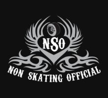 Non-Skating Official {silver & white} by KustomByKris