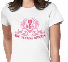 Non-Skating Official {pink} Womens Fitted T-Shirt