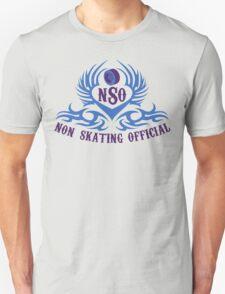 Non-Skating Official {blue & purple} Unisex T-Shirt