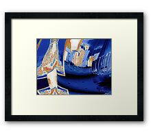 Welcome to The Rapture Framed Print