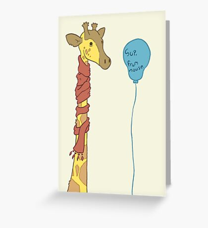 Say hello from my little friend Greeting Card