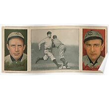Benjamin K Edwards Collection Orval Overall James P Archer Chicago Cubs baseball card portrait Poster