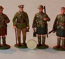 Handmade WW1 model soldiers by thermosoflask
