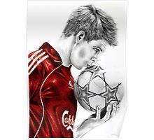 Liverpool's Steven Gerrard Poster