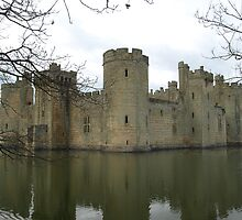 Bodiam Castle #2 by NowhereMan