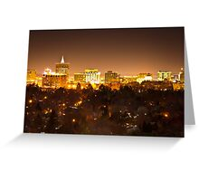 Boise Aglow Greeting Card