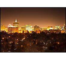 Boise Aglow Photographic Print