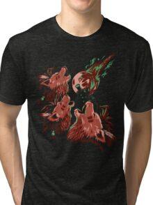 XIII Wolf Moon Tri-blend T-Shirt