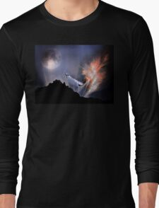 Escaping A Black Hole Long Sleeve T-Shirt