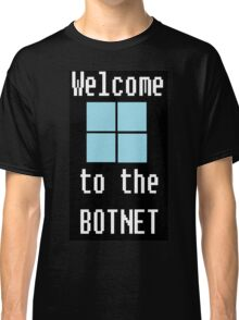 Welcome to The BotNet - black Classic T-Shirt