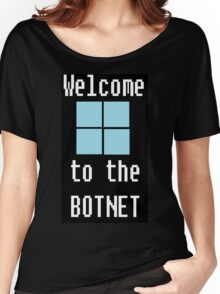 Welcome to The BotNet - black Women's Relaxed Fit T-Shirt