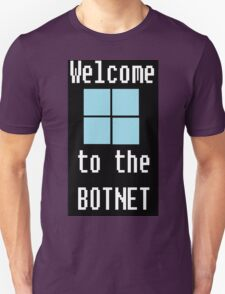 Welcome to The BotNet - black T-Shirt