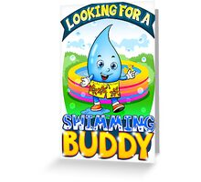 Looking For A Swimming Buddy Greeting Card