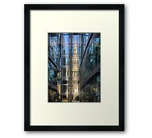St.Pauls in a Glass Wall Framed Print