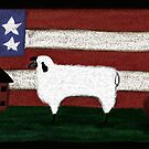 Country Flag by Mitch Adams