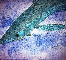 Blue Shark by Joshua  Whitehead