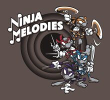 Ninja Melodies (TV Colours) T-Shirt