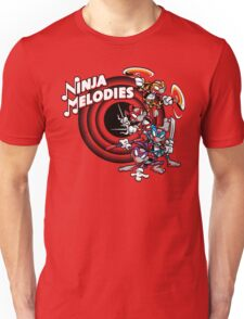 Ninja Melodies (TV Colours) Unisex T-Shirt