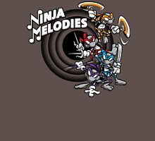 Ninja Melodies (TV Colours) Unisex T-Shirt