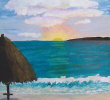 Tequila Sunset by Anita Wann
