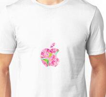 Roses Lilly Apple Logo Unisex T-Shirt