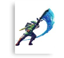 Link Slash Canvas Print