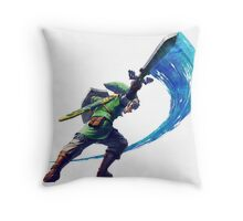 Link Slash Throw Pillow