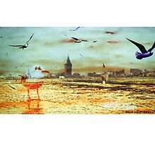 artistanbul design galata tower Photographic Print