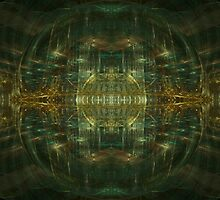 Inside The Virtual Mind by Craig Hitchens - Spiritual Digital Art