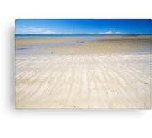 Four Mile Beach, Port Douglas - very low tide Canvas Print