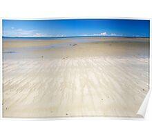 Four Mile Beach, Port Douglas - very low tide Poster