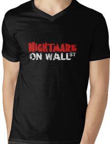Nightmare on Wall Street. Mens V-Neck T-Shirt
