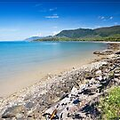 Oak Beach (Yule Point looking South), near Port Douglas by Chris Cohen