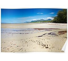 Four Mile Beach, Port Douglas - looking South Poster