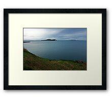 Ireland's Eye & Lambay Island Framed Print