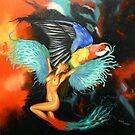 Wings Of Fire. by Debra Freeman