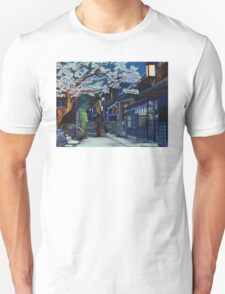 Under the Cherry Blossoms, Spring Unisex T-Shirt